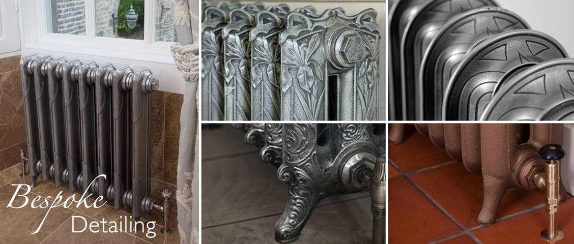 decorative cast iron radiators from Carron