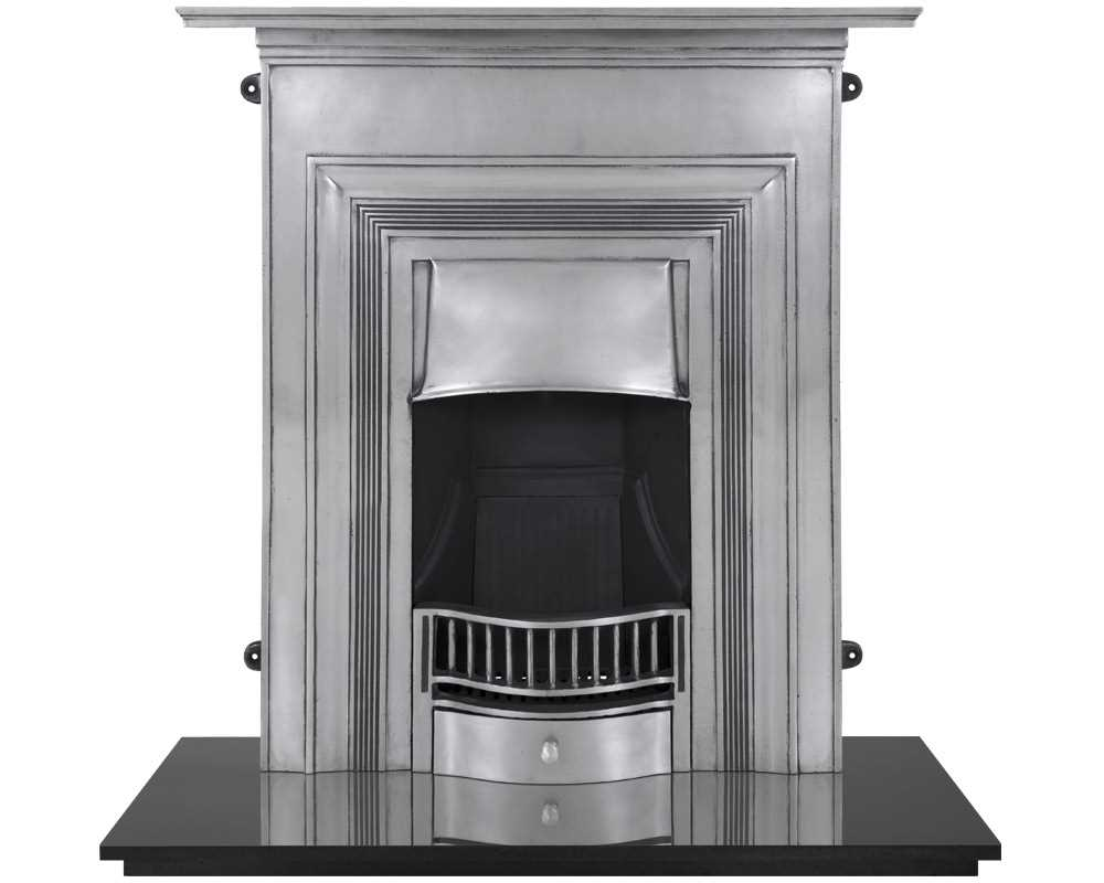 Oxford combination cast iron fireplace in full polish