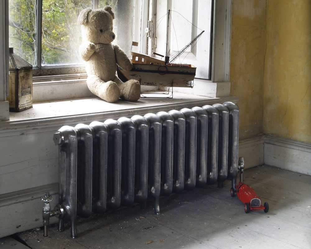 Princess cast iron radiator in period house