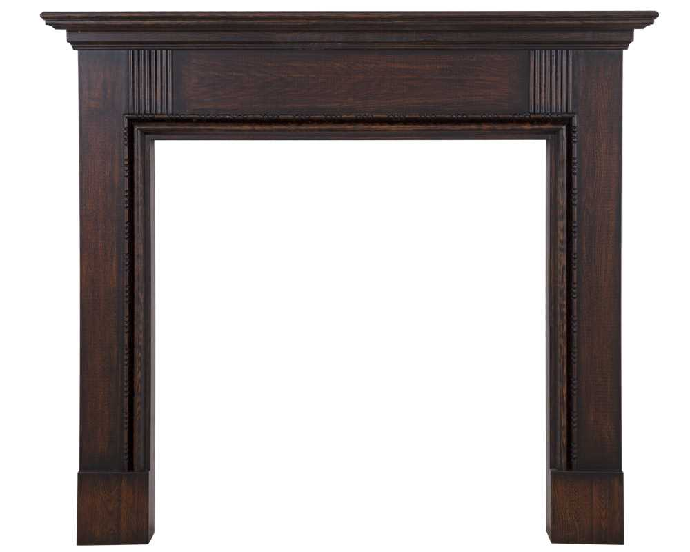 Elsmere wooden fireplace surround