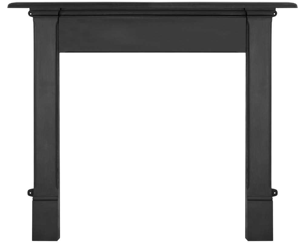 Alice fireplace surround in black