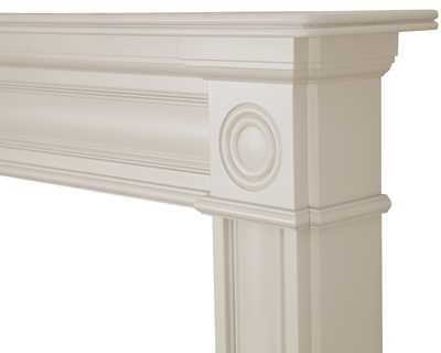 Derry wooden fire surround painted