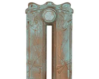 Dragonfly radiator section in Roberson vintage copper