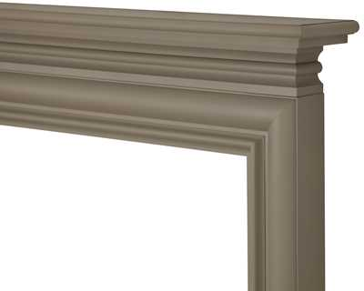 Wessex wooden fire surround painted