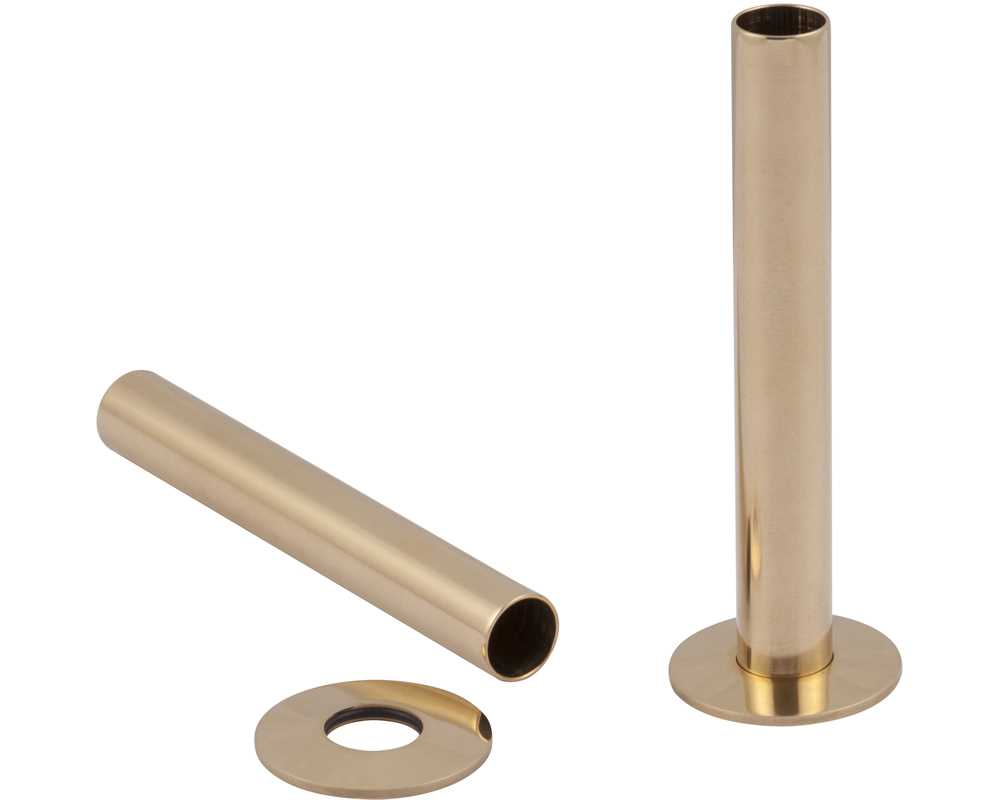 brass radiator pipe shroud/sleeves